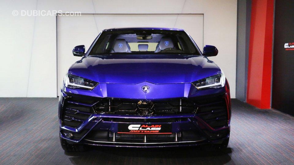Lexus Cars For Sale >> Lamborghini Urus for sale: AED 1,499,000. Blue, 2019