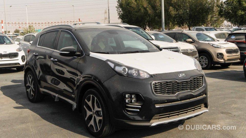 Kia Sportage Gtline Diesel For Sale Black 2017