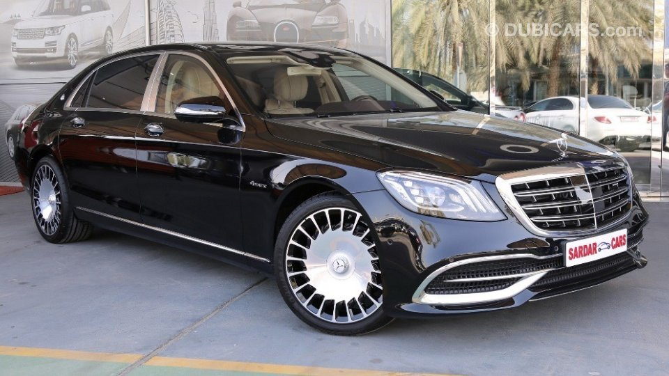 Mercedes Benz S 560 Maybach For Sale Aed 799 000 Black 2018