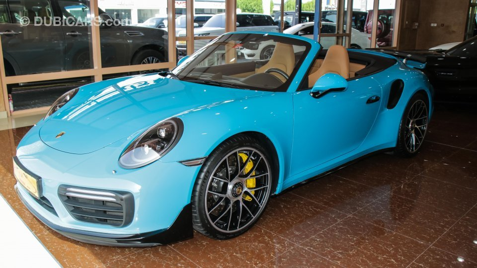 Used Porsche 911 For Sale >> Porsche 911 Turbo S for sale: AED 715,000. Teal, 2018