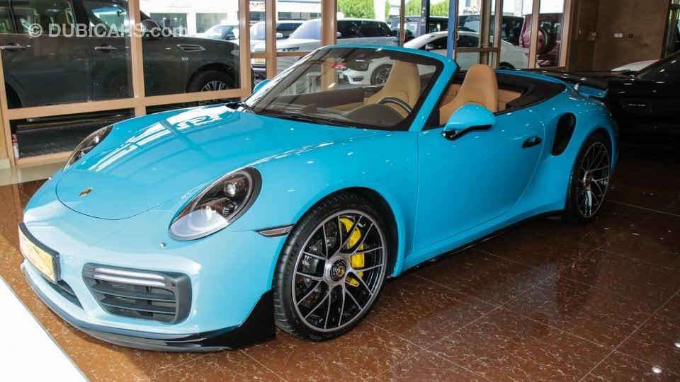 Porsche Carrera S >> Porsche 911 Turbo S for sale: AED 715,000. Teal, 2018