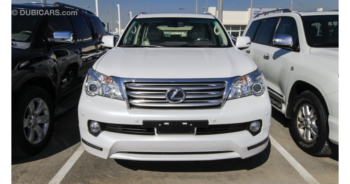 lexus gx 460 for sale aed 130 000 white 2012. Black Bedroom Furniture Sets. Home Design Ideas