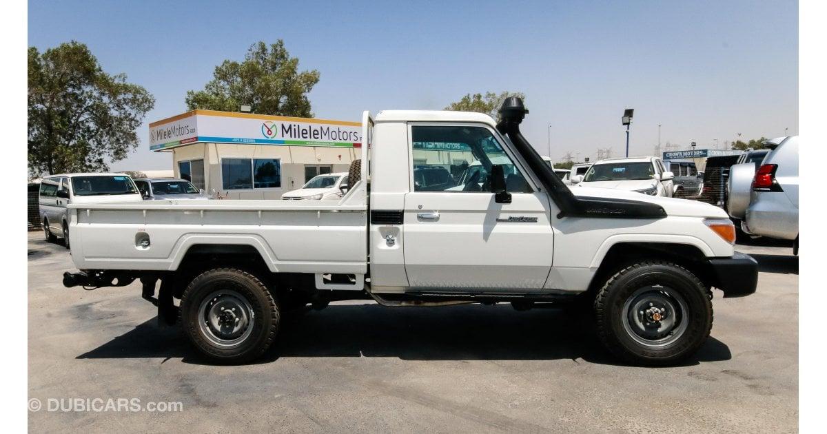 toyota land cruiser pickup diesel for sale white 2018. Black Bedroom Furniture Sets. Home Design Ideas