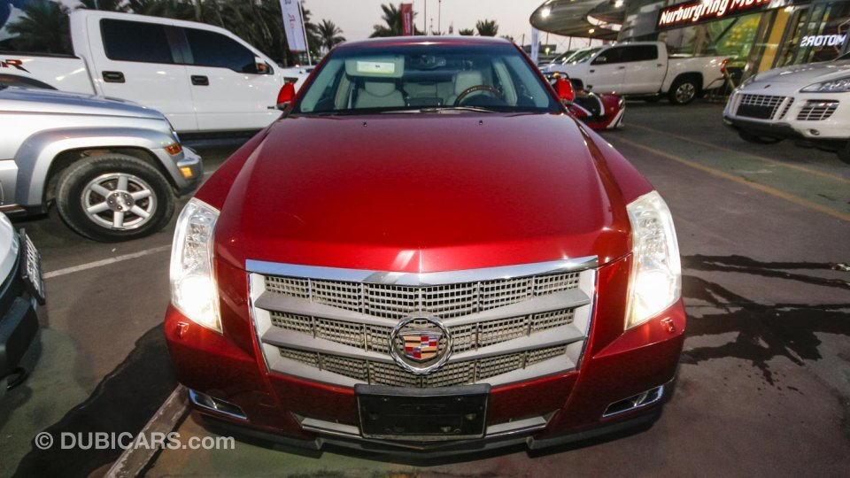 Cadillac Cts For Sale Aed 64 000 Red 2009