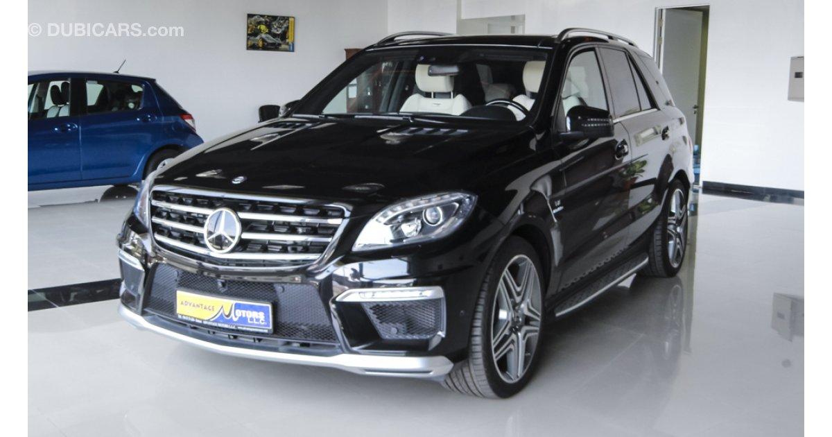 Mercedes benz ml 63 amg v8 biturbo for sale aed 300 000 for Mercedes benz v8 biturbo price