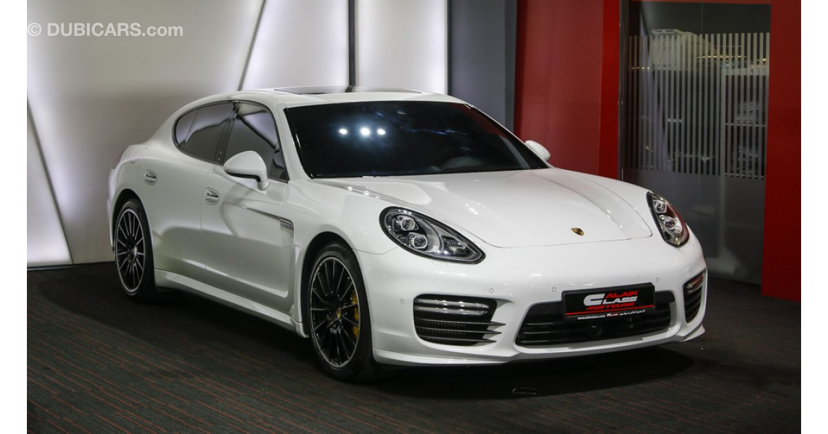 porsche panamera turbo turbo s kit for sale aed 425 000 white 2014. Black Bedroom Furniture Sets. Home Design Ideas