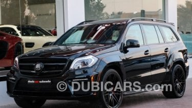 Mercedes Benz Gl 63 Amg Brabus 620 For Sale Aed 699 000 Black 2014
