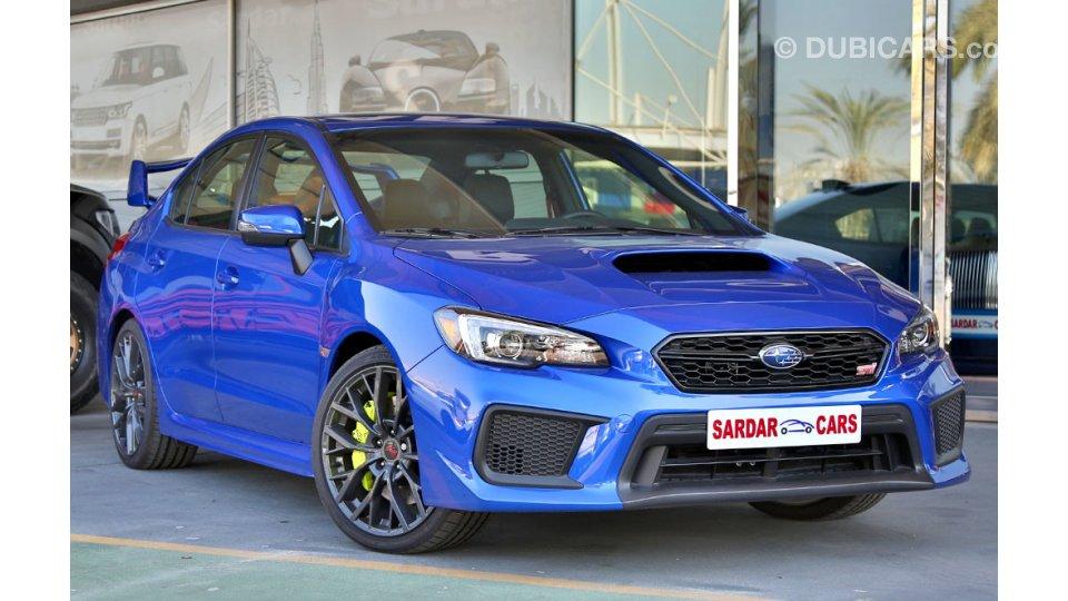Subaru Impreza Wrx Sti 2019 For Sale Aed 185 000 Blue 2019