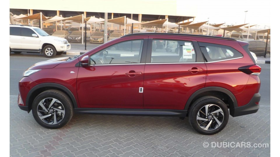 Toyota Rush 1 5l Petrol Ex Auto For Sale  Aed 62 500  Red
