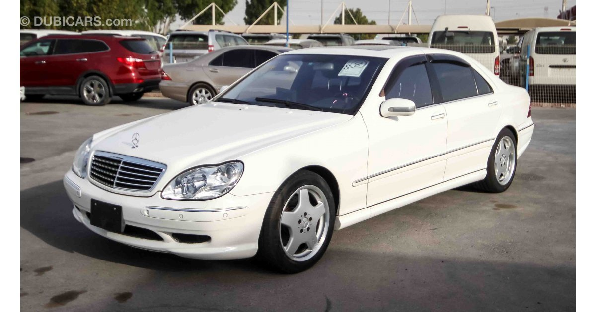 mercedes benz s 500 l with s55 amg body kit for sale aed. Black Bedroom Furniture Sets. Home Design Ideas
