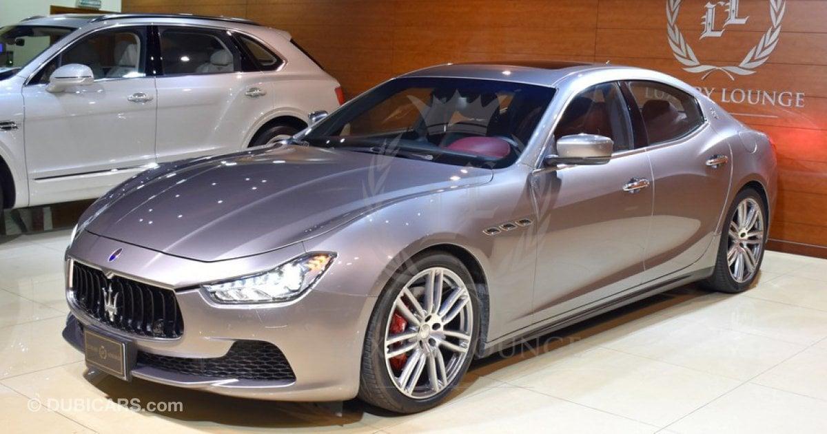 Maserati Ghibli Price >> Maserati Ghibli Q4 for sale: AED 200,000. Grey/Silver, 2015