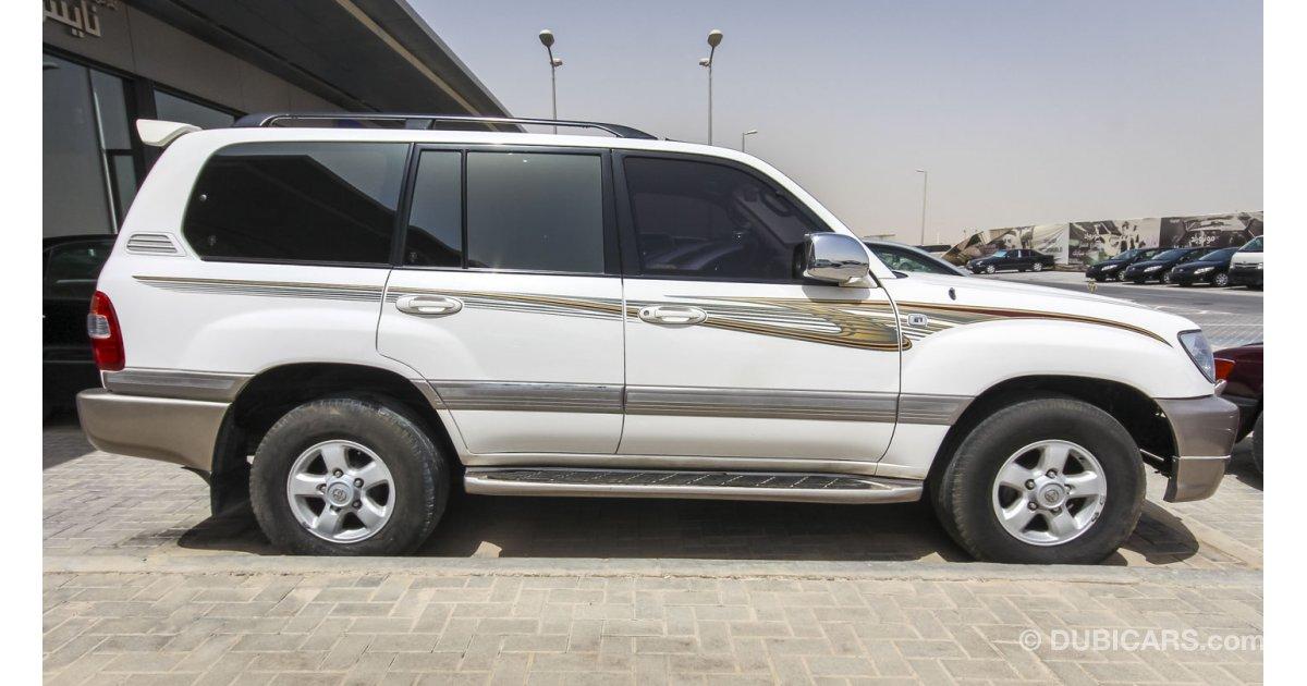 Toyota Land Cruiser Vxr For Sale White 2000