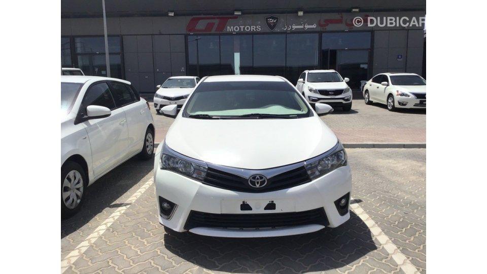 Toyota corolla for sale aed 37 000 white 2015 - 2015 toyota corolla interior lights ...