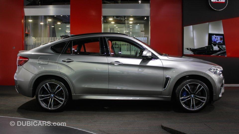Bmw X6 M For Sale Grey Silver 2015
