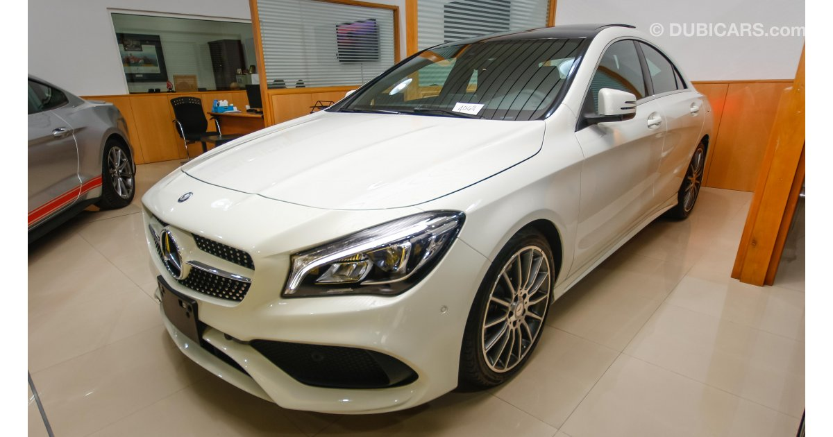 Mercedes benz cla 250 for sale white 2017 for Cla mercedes benz for sale