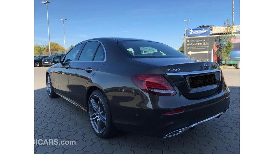 Mercedes Benz E 200 For Sale Aed 225 000 Black 2018