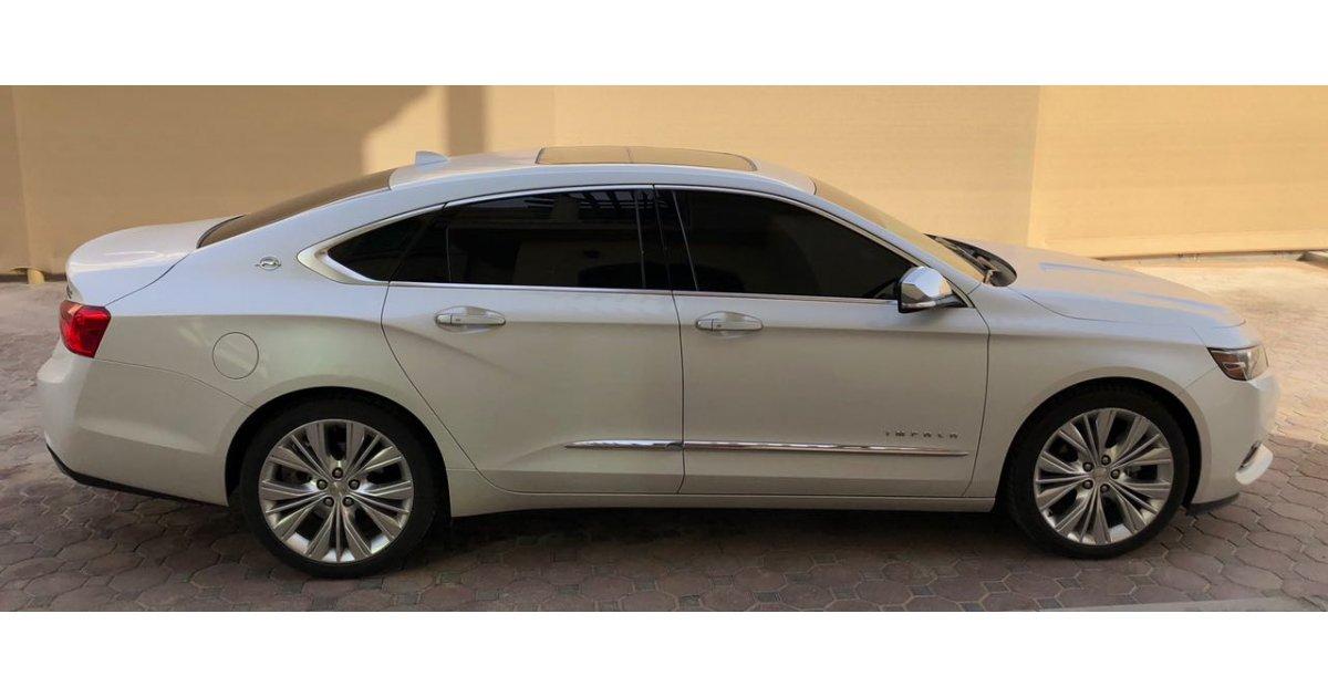 chevrolet impala ltz v6 for sale aed 88 000 white 2016. Black Bedroom Furniture Sets. Home Design Ideas