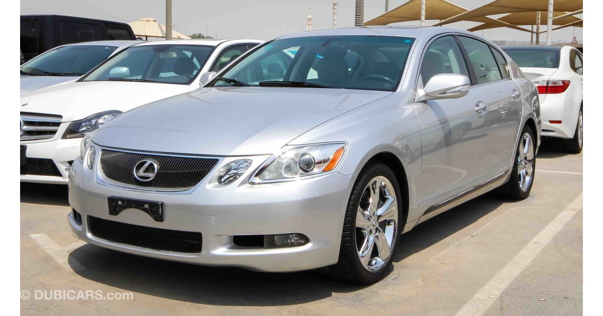 lexus gs 350 for sale aed 45 000 grey silver 2010. Black Bedroom Furniture Sets. Home Design Ideas