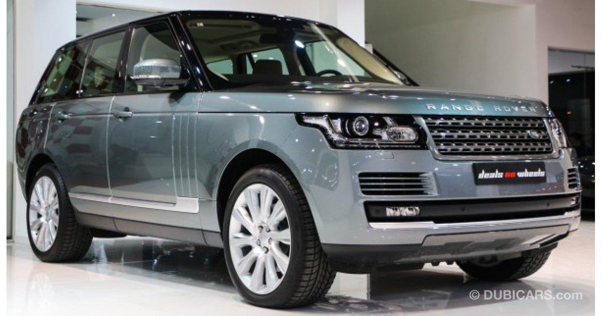 land rover range rover vogue hse for sale aed 410 000 grey silver 2015. Black Bedroom Furniture Sets. Home Design Ideas