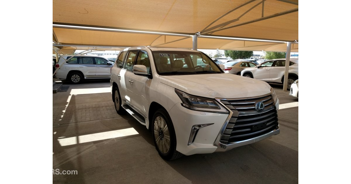 lexus lx 570 for sale aed 346 000 white 2017. Black Bedroom Furniture Sets. Home Design Ideas