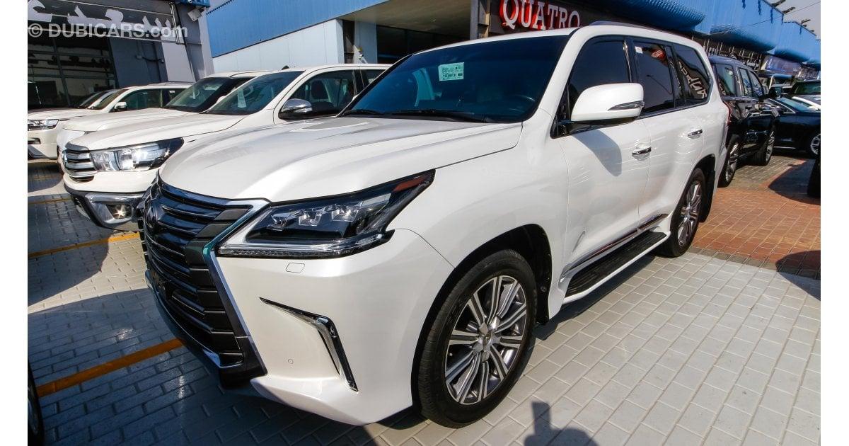 Lexus lx 570 for sale aed 330 000 white 2016 for Lexus motors for sale