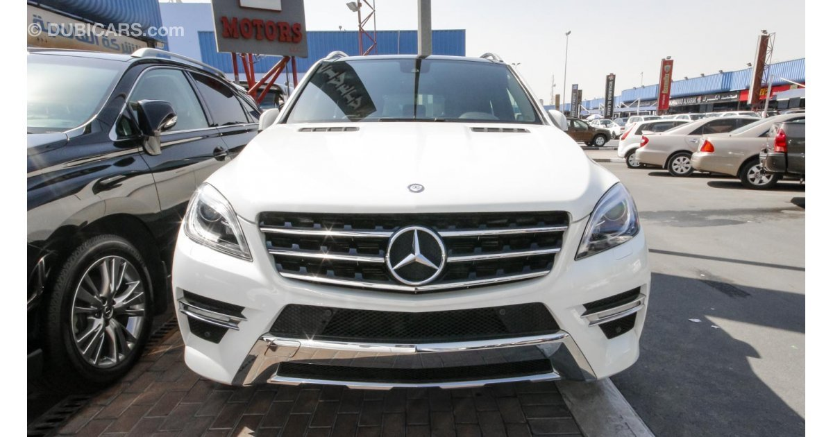 Mercedes benz ml 350 for sale aed 198 000 white 2013 for Ml mercedes benz for sale