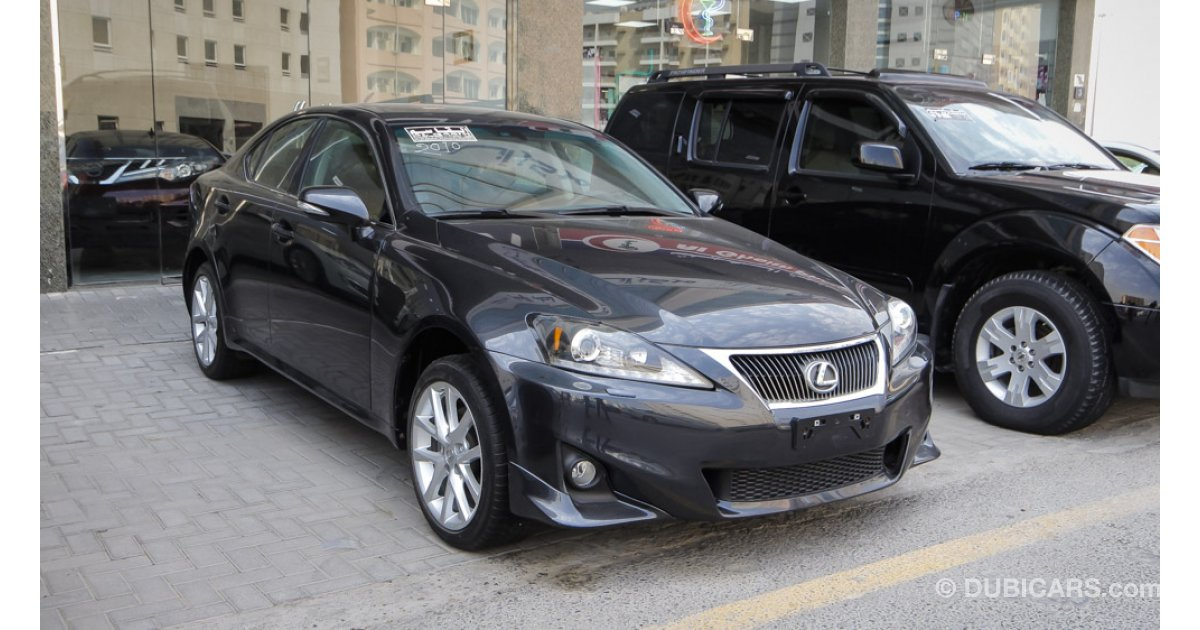 lexus is 250 for sale aed 55 000 grey silver 2011. Black Bedroom Furniture Sets. Home Design Ideas