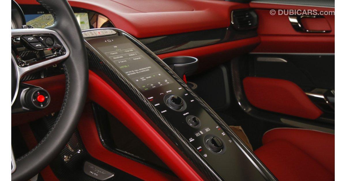 porsche 918 spyder weissach package for sale aed. Black Bedroom Furniture Sets. Home Design Ideas