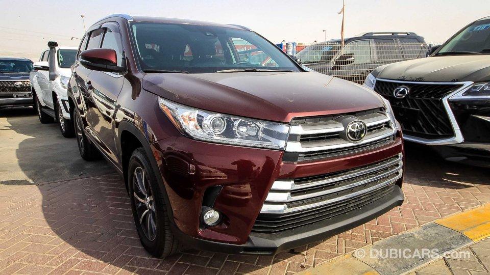 Toyota Highlander Xle >> Toyota Highlander XLE AWD full option left hand export ...