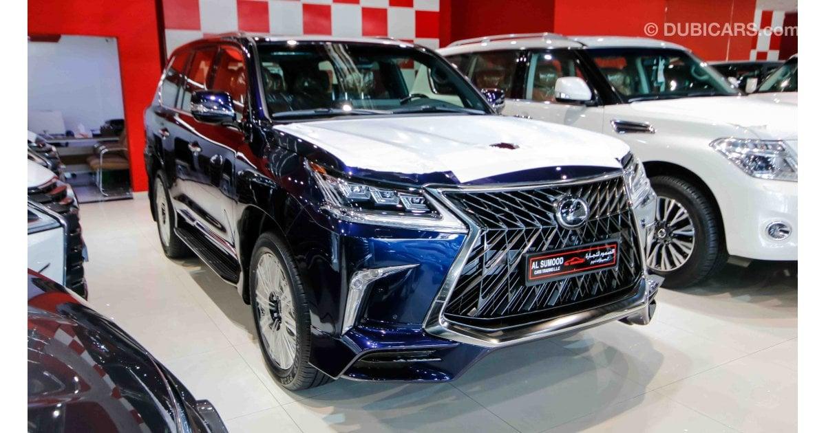 Lexus Lx 570 Super Sport For Sale Aed 419 000 Blue 2018