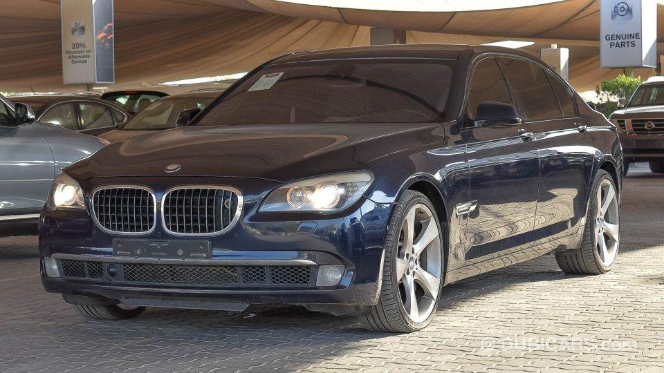 bmw 750 li for sale aed 32 900 blue 2009. Black Bedroom Furniture Sets. Home Design Ideas