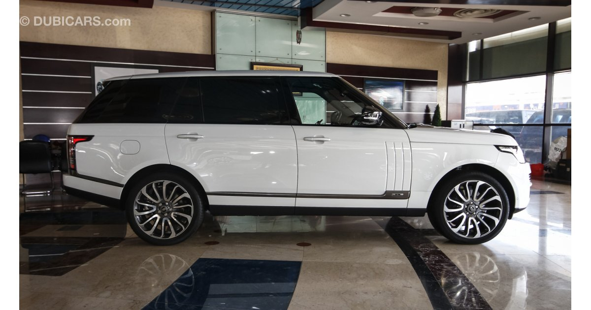 land rover range rover autobiography long wheel base for sale aed 660 000 white 2016. Black Bedroom Furniture Sets. Home Design Ideas