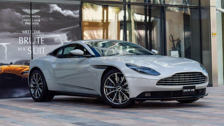 Used Aston Martin Db11 For Sale In Dubai Uae Dubicars Com