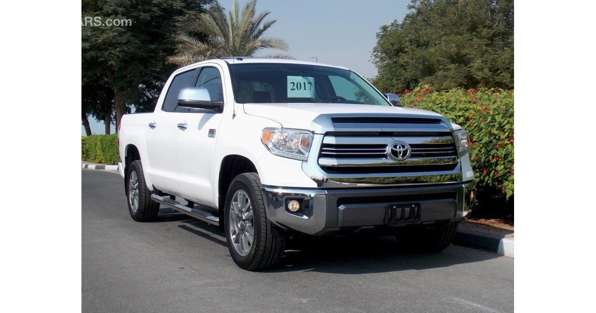 Toyota Tundra 2017 1794 Special Edition 4x4 5 7l V8 0 Km Bsm Gulf Warranty Last
