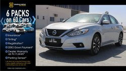 Nissan Altima CERTIFIED VEHICLE WITH DELIVERY OPTION; ALTIMA S(GCC SPECS) FOR SALE WITH WARRANTY(CODE : 72763)