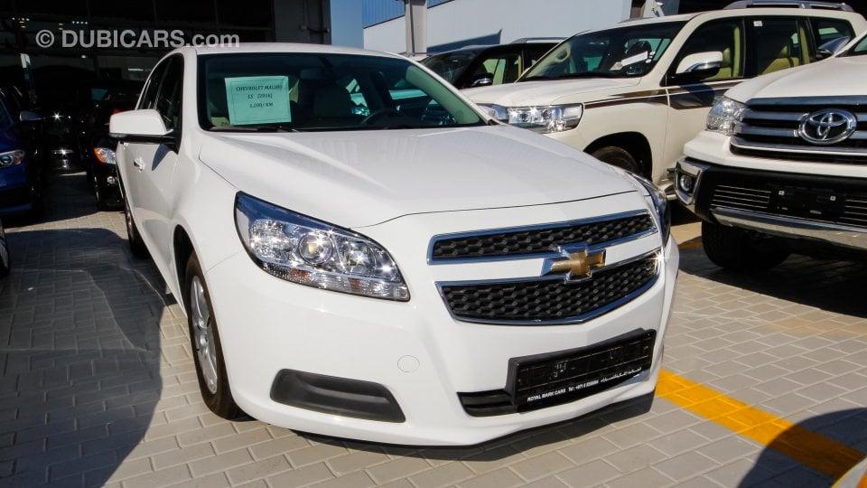 Chevrolet Malibu LS for sale: AED 55,000. White, 2016