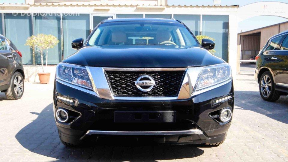 Nissan pathfinder 4wd sv for sale aed 88 900 black 2014 - 2013 nissan pathfinder interior colors ...