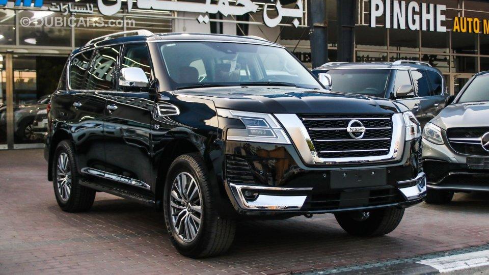 nissan patrol platinum vvel dig for sale: aed 321,000