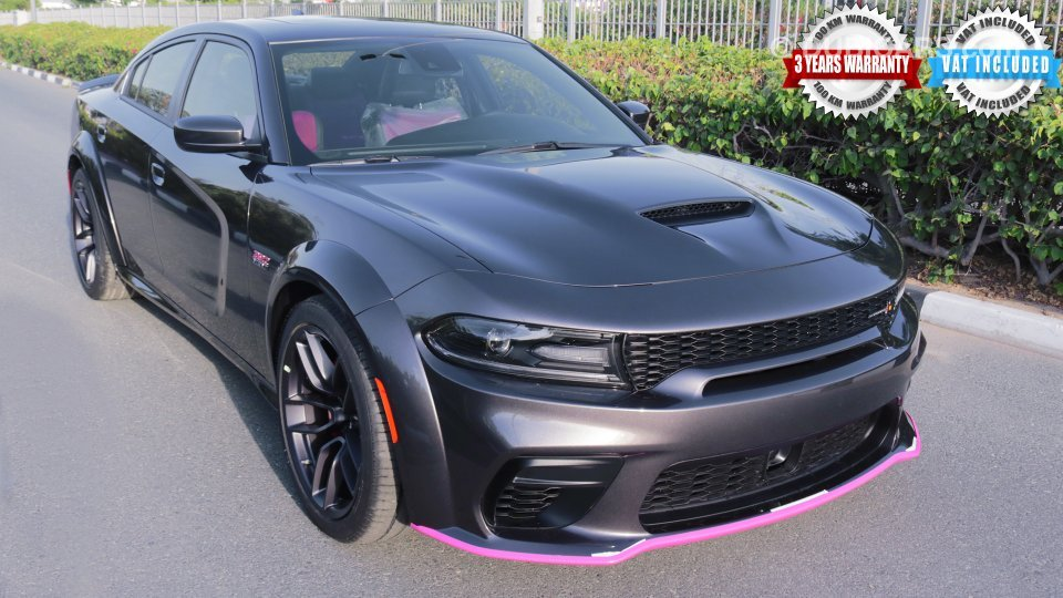 Dodge Charger Dodge Charger 2020 Scatpack Widebody 392 Hemi 6 4l V8 Gcc 0km With 3 Years Or 100 000km Warranty For Sale Aed 246 999 Grey Silver 2020