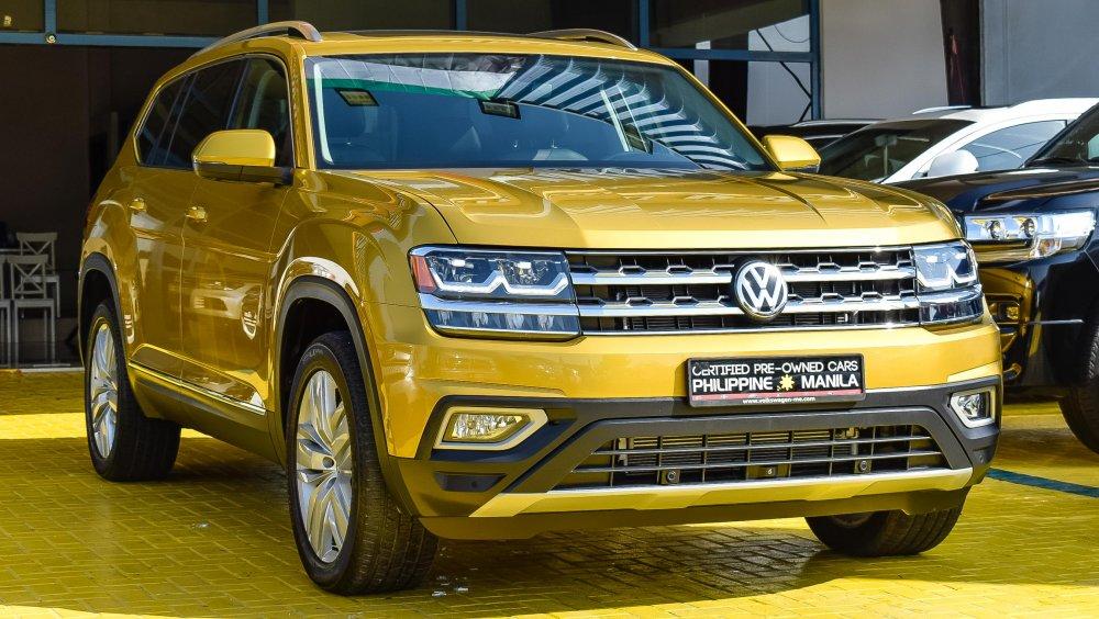 Volkswagen Atlas Sel V6 4motion For Sale Aed 149 500 Gold 2018
