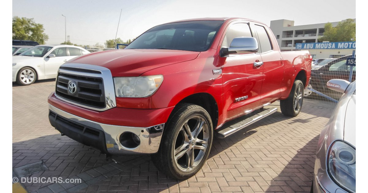 Toyota tundra 5 7 l for sale aed 60 000 red 2010 for Toyota tundra motor for sale