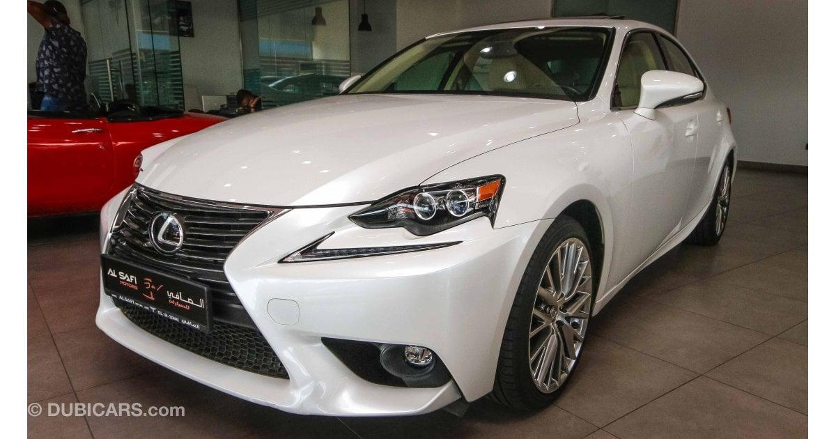 Lexus is 200 t including vat for sale aed 95 000 white 2016 for Lexus motors for sale