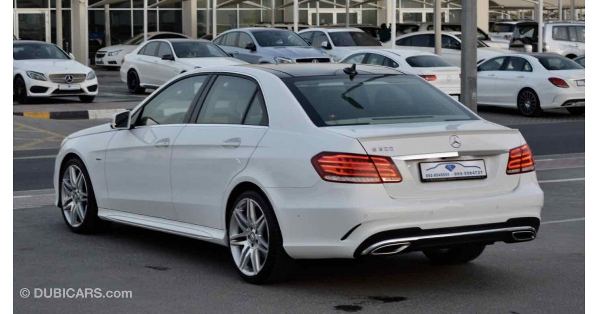 Mercedes benz e 300 for sale aed 148 000 white 2016 for Mercedes benz e300 for sale