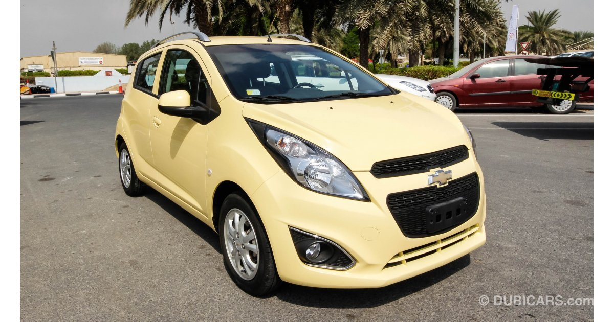 chevrolet spark for sale aed 26 900 yellow 2015. Black Bedroom Furniture Sets. Home Design Ideas