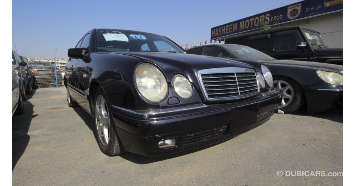Mercedes benz e 320 for sale black 1998 for Black mercedes benz for sale