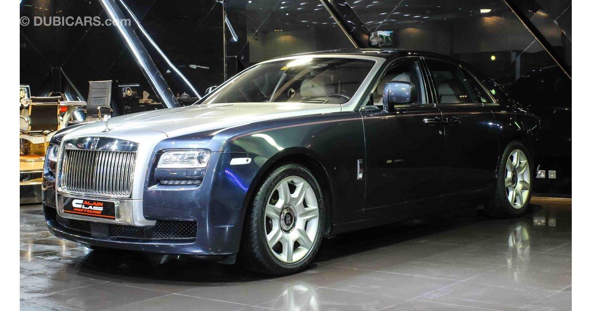 Rolls Royce Ghost Lwb For Sale Aed 530 000 Grey Silver 2011