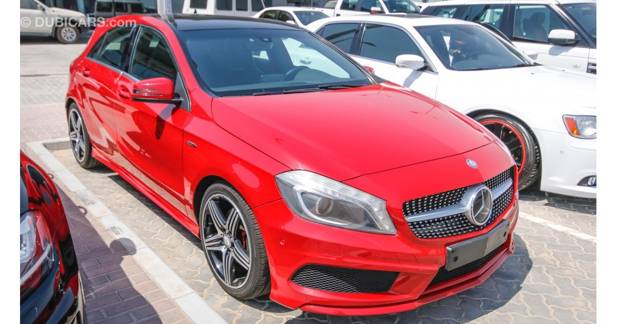 Mercedes benz a 250 sport for sale aed 70 000 red 2014 for Mercedes benz a250 sport for sale