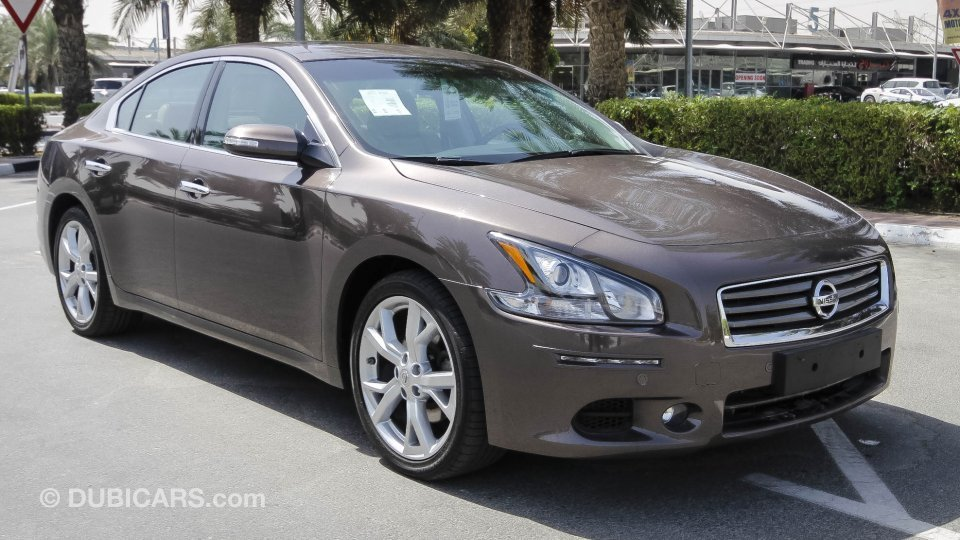 nissan maxima for sale aed 80 900 brown 2015. Black Bedroom Furniture Sets. Home Design Ideas