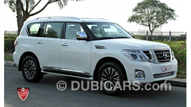 Se Car Agency >> Nissan Patrol Se Platinum Excellent Condition Completely Agency Maintained