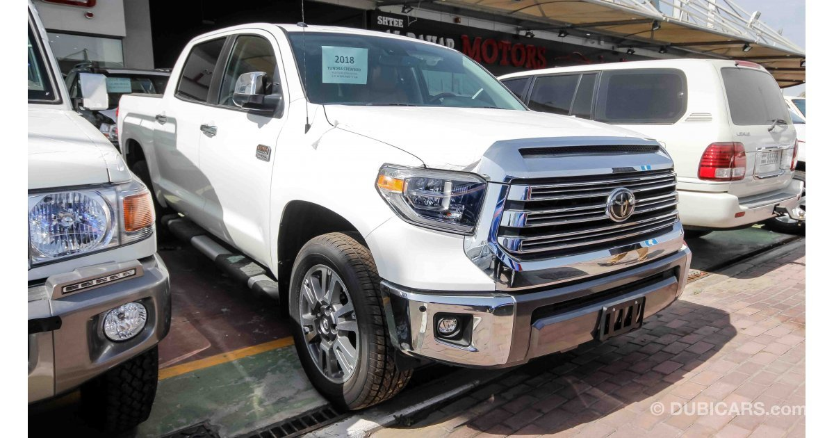 toyota tundra 1794 edition for sale white 2018. Black Bedroom Furniture Sets. Home Design Ideas